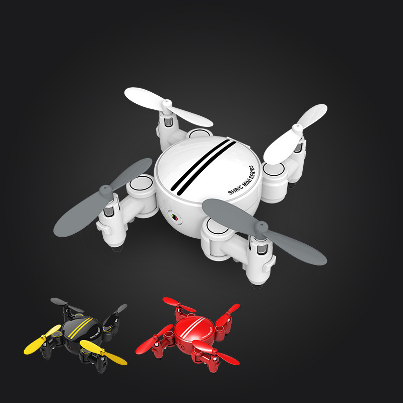 HR Unmanned Aerial Vehicle SH1 Mini Folding Remote Control Aircraft High-definition Aerial Photography Swappable Batteries Of Sm