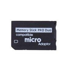 ใช้งานร่วมกับอะแดปเตอร์การ์ดหน่วยความจำ Micro SD Memory Stick Micro SD 128MB 16GB Stick Pro duo
