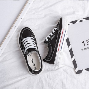 Image 4 - SWYIVY White Shoes Woman Platform Sneakers Canvas Shoes 2020 Spring New Female Causal Shoes Black Sneakers On Platform Heel