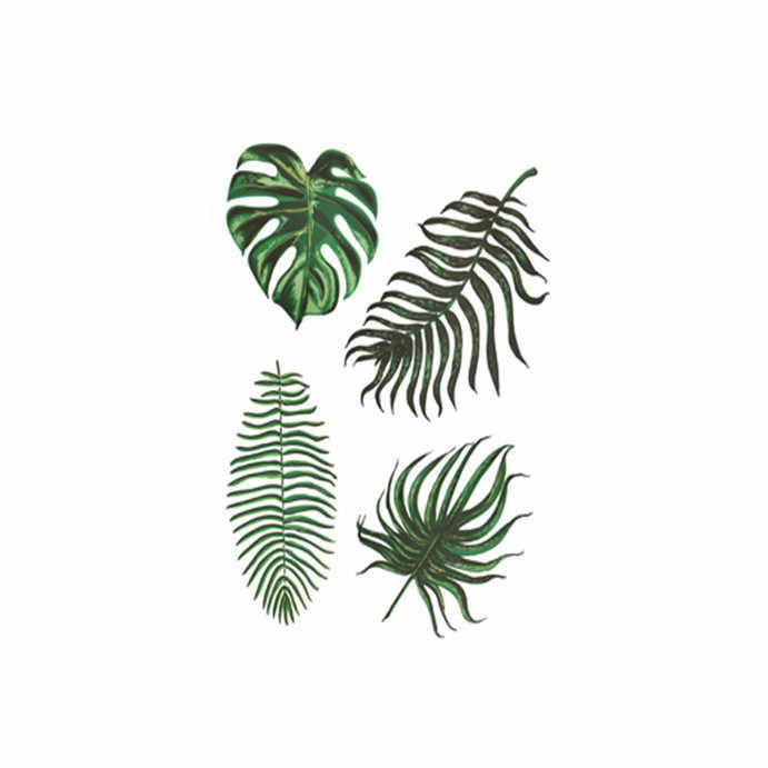 Ins Estilo Folha Verde Adesivos de Parede para quarto sala de estar decorações home Pássaro quarto papel de parede de Vinil Decalques adesivos Art A25