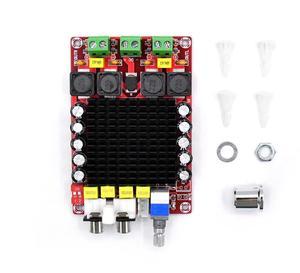Image 2 - TDA7498 Class D High power Digital amplifier board 2x 100w amplifiers amplificador audio DC 12V 24V