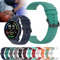 Per Xiaomi MI Watch / MI Watch colore cinturino sportivo cinturino cinturino cinturini 22mm cinturino per Realme Watch 2 Pro S correa