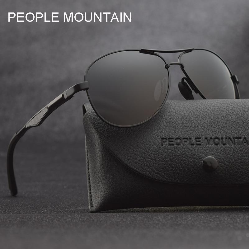 Aluminum magnesium Polarized men's Sunglasses men women aviation style male Sun Glasses Brand Designer man oculos driving shades|Men's Sunglasses| - AliExpress