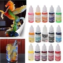 УФ смола ультрафиолет отверждение смола жидкость пигмент краситель ручная работа искусство ремесло 15 цвет