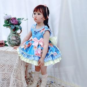 3 шт., красивые платья для девочек в Испании, элегантные праздничные платья принцесс на свадьбу, день рождения, пасхальные платья для девочек