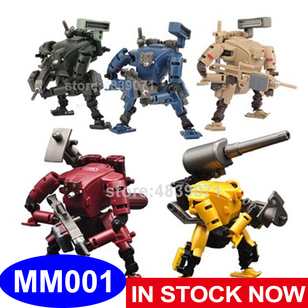 RIHIO Action Figure Toys Multiabyss MM 001 MM001 Power Armor Striker Logistic Set V Link Mecha Series Deformation TransformationAction & Toy Figures   -