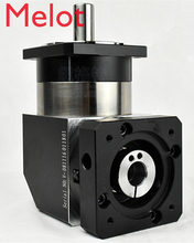 цена на right angle 90 degree planetary gear reducer 7 arcmin Ratio 3:1 to 10:1 for 130mm 2kw AC servo motor input shaft 22mm