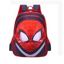 Marvel 2019 Schoolbag 3D Backpack School Bags For Boys Waterproof Child Spiderman Multi style Book bag Kids Shoulder Bag Satchel