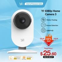 YI Home 1080p AI wifi telecamera IP rilevazione umana allarmi di attività per la visione notturna per baby pet Security Cam Cloud e SD Storage Cam