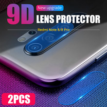 2 Pieces Back Camera Lens Tempered Glass for Xiaomi Mi Redmi Note 8 Pro 6 6A 7 7A Mix 3 Black Shark 2 Helo Protector(China)