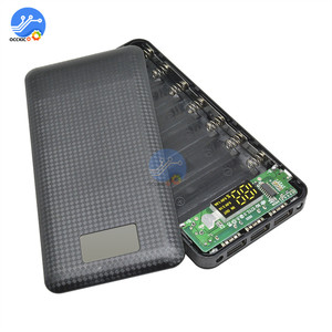 Image 5 - 3 USB 7x18650 batterie bricolage batterie externe support de la boîte boîtier LCD affichage batterie Charge pour téléphone portable PC avec lampe de poche LED