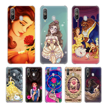 for samsung galaxy a50 a40 a30 a20 a10 case retro calf grain pu leather 2 card slots hard pc back cover for samsung a50 a30 2019 Beauty Beast Rose Princess Hard PC Case For Samsung Galaxy A10 A10e A10s A20 A30 A40 A50 A60 A70 A80 A51 A71 A01 Cover Couqe