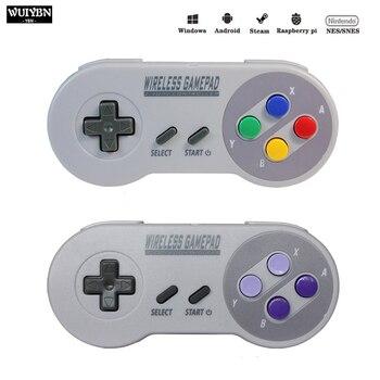 Беспроводной геймпад 2,4 ГГц джойстик для NES/SNES Super Nintendo Классический ПК Android Raspberry беспроводной USB контроллер