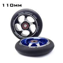 Hub 100mm 110mm 888888a mgmgp marca roda de alta precisão cubo de liga de alumínio inline roda scooter rolo de velocidade pesada com ABEC-9