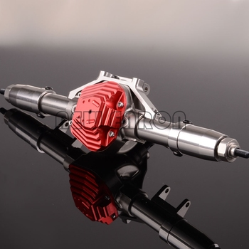 NEW ENRON 1/10 CNC Aluminum Rear Axle Completed Assembly AX50007 For RC 1:10 Axial SCX10 Rock Crawler