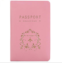 eTya Travel Passport Cover Wallet Women Men Passport Credit Card Holder Purse ID Document Passport Holder Bag Pouch Case(China)