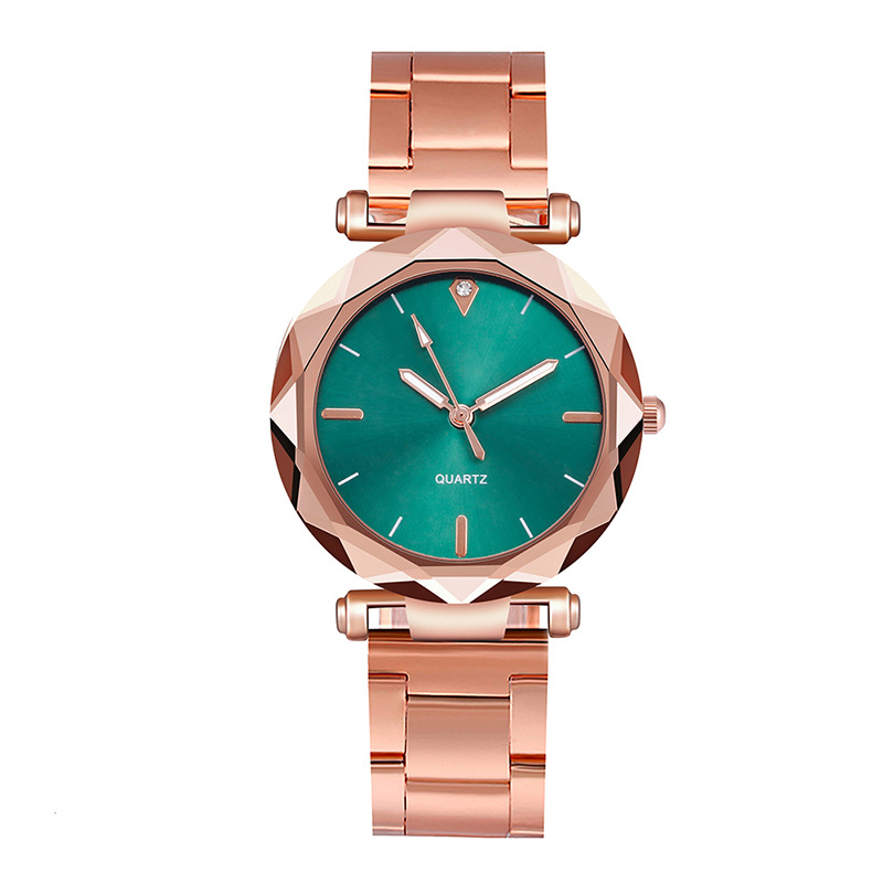 New Simple Women Stainless Steel Quartz Watch OL Ladies Hand Jewelry Watches Gifts