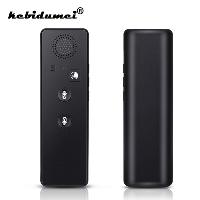 Bluetooth tradutor inteligente t3 bastante tradução tradutor de voz inteligente 40 línguas instantânea bolso intérprete máquina