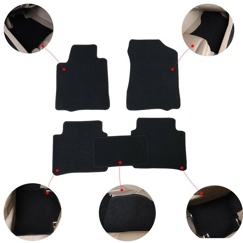 Les accessoires automatiques adaptés aux besoins du client de tapis de plancher de voiture pour Mercedes C classe E classe GLC GLK GLE protègent du tapis de tapis de voiture de tapis