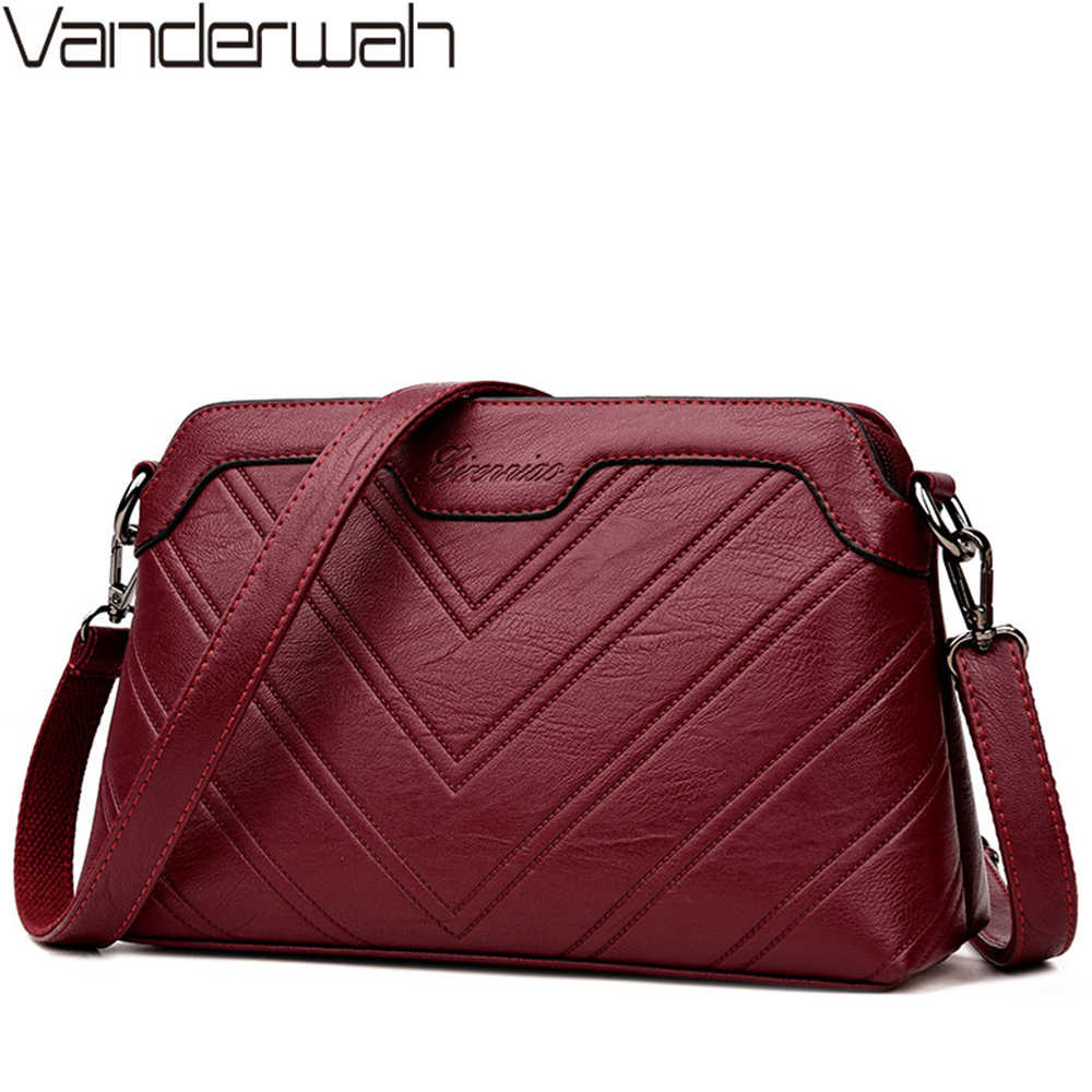 Женские повседневные сумки через плечо для женщин 2018 кожаные роскошные сумки женские сумки дизайнерские Bolsa Feminina Sac A основной Femme