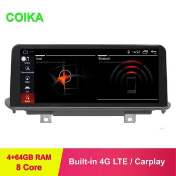 """COIKA 10.25"""" 8 Core Android 9.0 System Car Radio Stereo For BMW X5 F15 2014-2017 With 4+64G RAM GPS Navi Google WIFI Carplay PIP"""