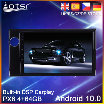 Android 10.0 PX6 GPS Navigation For Honda BRV 2015 - 2019 Auto Radio Stereo Car DVD Multimedia Auto Player HeadUnit 2 DIN 2din image