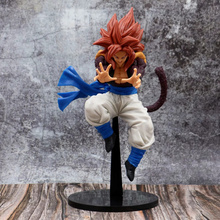 цены Anime Dragon Ball Z Super Saiyan 4 Son Goku Gogeta Big Bang Kamehameha Ver PVC Action Figure Collectible Model doll toy 24cm