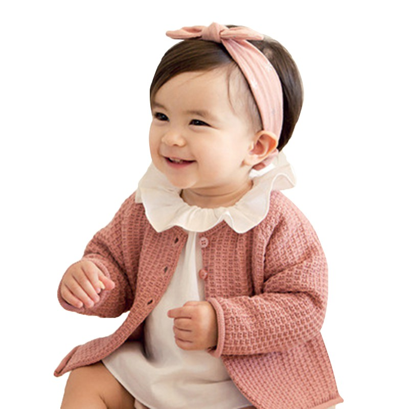 Children's Bow Small Ear Hair Band Combination