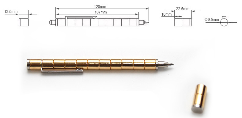 Magic Magnetic Ballpoint Pen 6