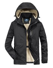 Zoxo зимняя куртка для мужчин толстая водонепроницаемая улицы