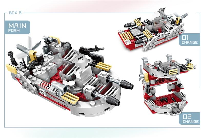 1000+ PCS Military Warship Navy Aircraft Army Figures Building Blocks LegoINGlys Army Warship Construction Bricks Children Toys (9)