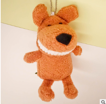 цены 1PCS Mini Plush Smile Dinosaur Toys Cute Soft Stuffed Toothy Dinosaurs Toy Doll Small Pendant Dolls For Kids Hot 15CM Key Ring
