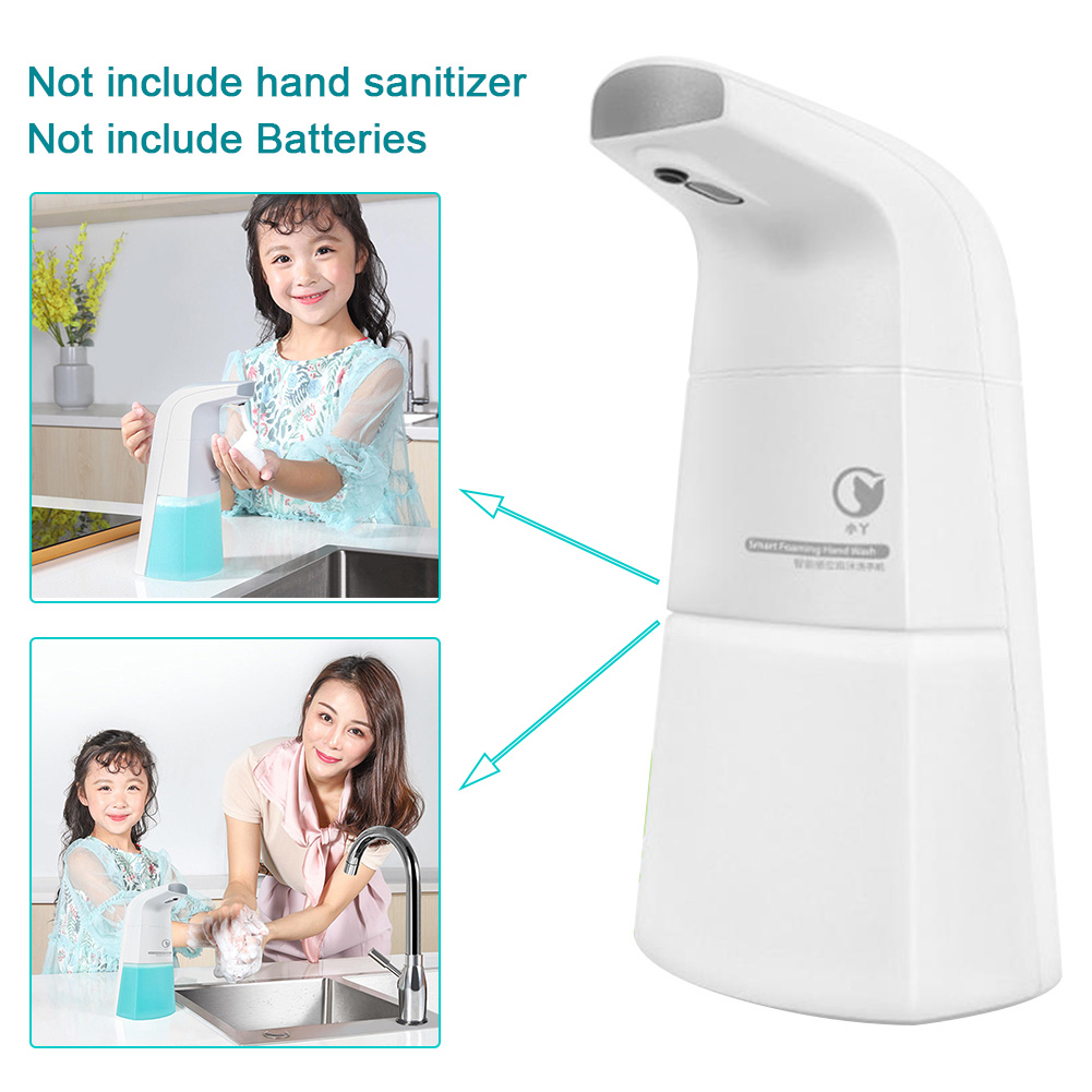 Electric Automatic Sensor Low Noise Smart Foaming Bathroom Home Durable Soap Dispenser Health Care Free Stand Hand Cleaning