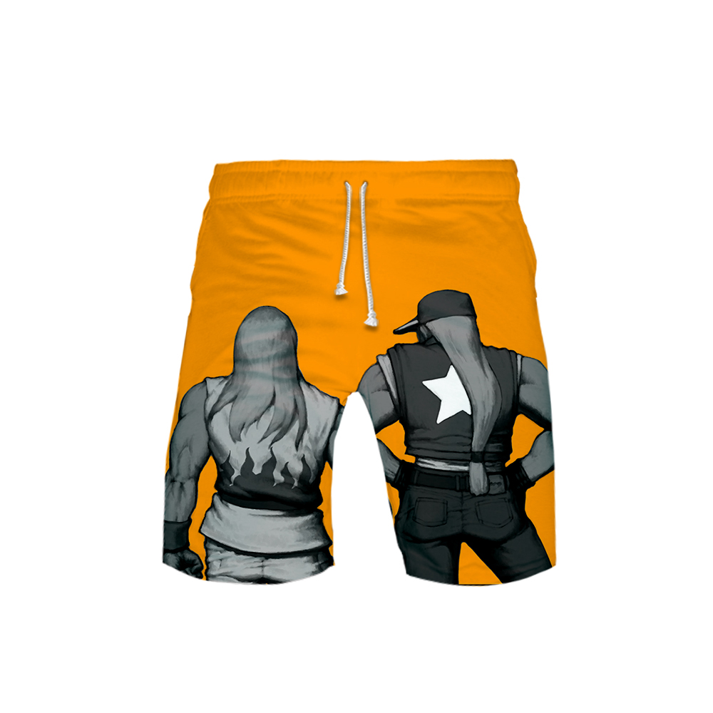 THE KING OF FIGHTERS Game 3D Ball Pants Boys Shorts Pants Leisure 3D Print Novelty Top Spring Autumn Luxury Harajuku