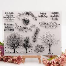 O corte de metal do natal corta morrer e selo folhas e árvore molde scrapbook papel ofício faca molde lâmina punch stencils