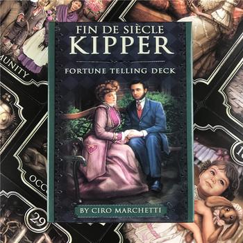 FIN sito Kipper karty tarota angielska wersja wróżbiarstwo Fate Deck Oracle karton gry na zabawka na imprezę gra rozrywkowa tanie i dobre opinie