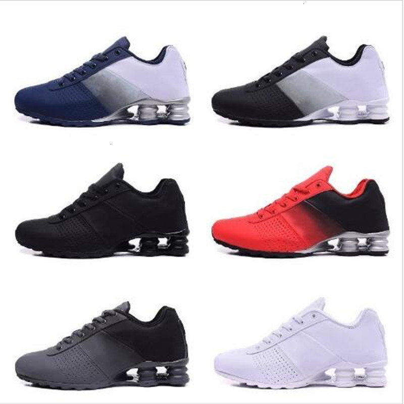 2020 New High Quality Shox Deliver 809 Men Running Shoes Cheap Famous DELIVER OZ NZ Men Sneakers Black White Blue Increased Air