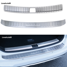 Stainless Steel Exterior Interior Inner Outer Rearguards Rear bumper Trunk Trim Bumper Pedal For VW Volkswagen Touran 2016-2019 недорого