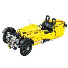 цена на Technic City Classical Tricycle Model Building Blocks Sets Bricks Kids Classic Toys For Children Car Kits Gifts