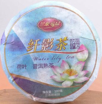 Klasyczna jakość liści lotosu herbata pu erh 100g odchudzanie gotowane pu er herbata odchudzanie dojrzała szczupła herbata pu erh tanie i dobre opinie NONE CN (pochodzenie)