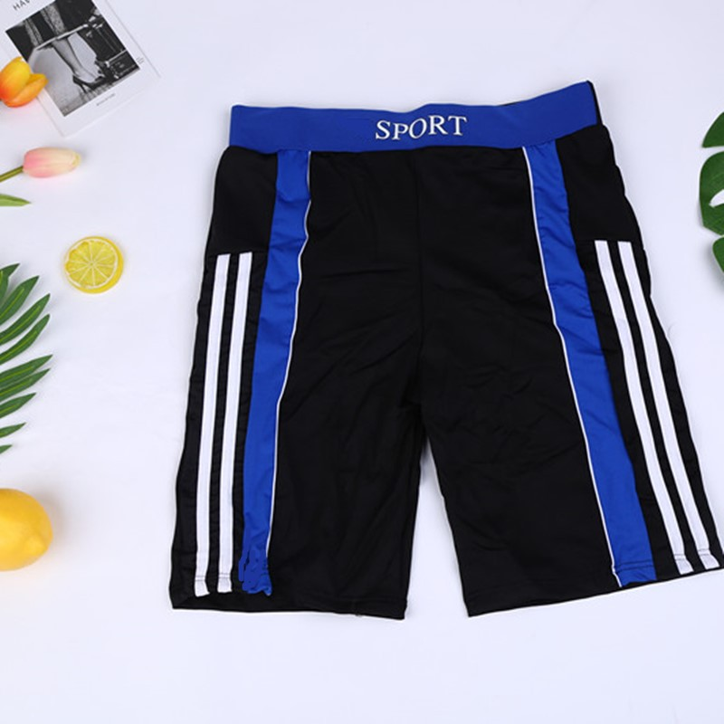 Swimming Trunks Men Hot Springs Ultra-stretch Comfortable Short Swimming Trunks Wide Waist Fashion Men Swimming Suit