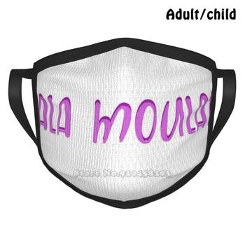 Lala Moulati Best Gift Funny Print Reusable Face Mask Whatever Arab Mena Narcotics Anonymous Algerien Algerian Algeria Algerian image
