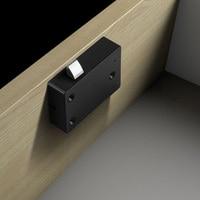 Cerradura de huella dactilar para el hogar  cajón de ABS  antirrobo inteligente  para oficina  sin llave  Mini armario de seguridad electrónico inteligente  fácil de instalar
