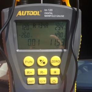 Image 5 - LM120 + refrigantion cyfrowy kolektor HVAC próżniowe ciśnienie temperatura Tester wycieku klimatyzator lodówka Dignostic
