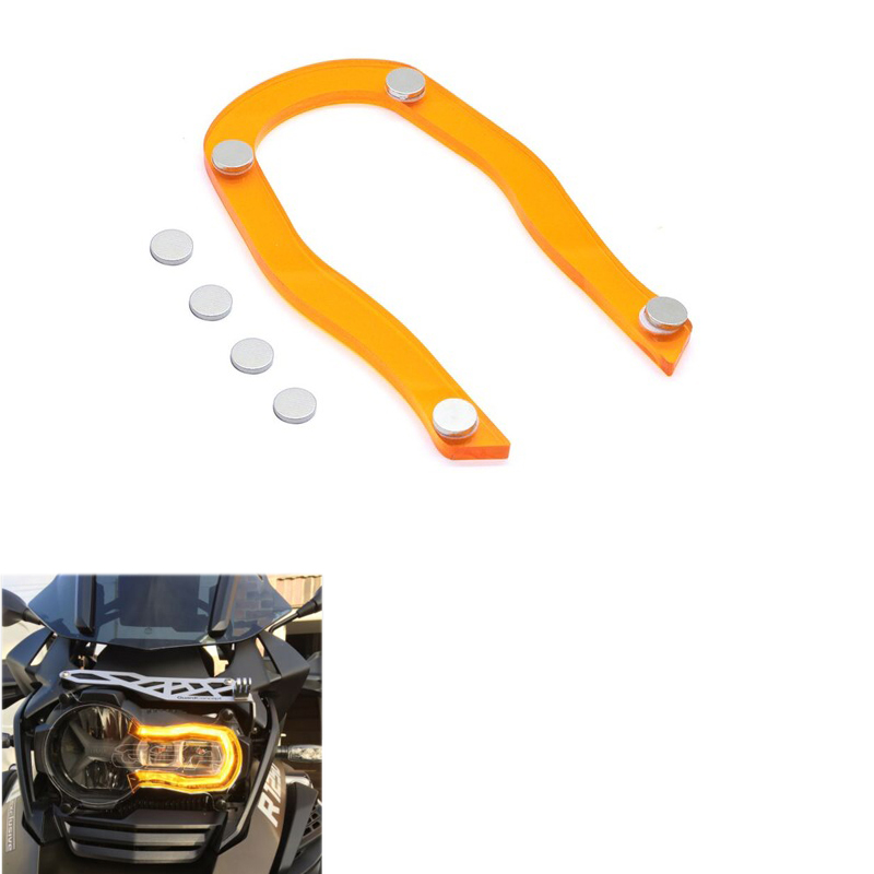 Headlight Protector Guard Lense Cover For BMW R1200GS Grille Fit For BMW R 1200 GS LC ADV 13-18 Acrylic Motorcycle Accessories