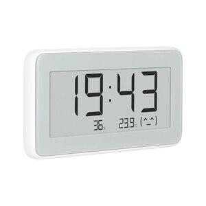 Image 3 - Xiaomi Mijia BT4.0 אלחוטי חכם חשמלי דיגיטלי שעון מקורה וחיצוני מדדי לחות מדחום LCD טמפרטורת מדידת כלים