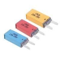3 pcs 10A+15A+20A Blade Fuse Car ATM Mini Kit Circuit Breaker Manual Reset