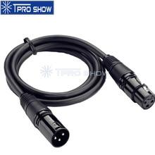 3Pin Dmx кабель Xlr разъем Dmx512 сигнальная линия для Dmx контроллера беспроводной дискотечный светильник лазерный светильник