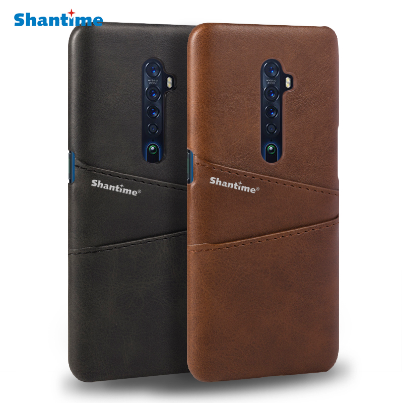 For OPPO Reno 2 Phone Case For OPPO Reno 10X ZOOM Case For OPPO Reno 5G PU Leather Back Cover For OPPO Reno 2Z Cover