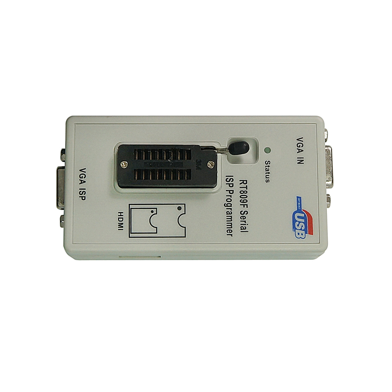 RT809F ISP Programmer with VAG cable Universal Programmer Serial ISP/ VGA LCD USB Programmer